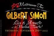 GILBERT SIMON at AL MADINA THEATRE - MISHKAL FESTIVAL 2012