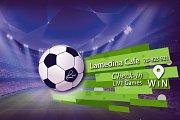 Watch UEFA Games Live on Big Screens at Lamedina Cafe, Jounieh