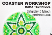 Coaster Workshop - Hama technique