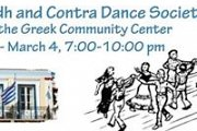 Ceilidh & Contra Dance at the Greek Community Center