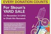Skoun Yard Sale: Organize your closet early this year!