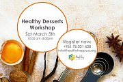 Healthy Desserts Workshop with Healthy Happy Us