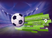 Watch UEFA Games Live on Big Screens at Lamedina Cafe