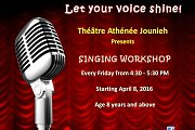 Singing Workshop at Theatre Athenee Jounieh
