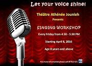 Singing Workshop at Theatre Athenee Jounieh
