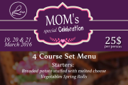 Mom's Special Celebration & Palm Sunday