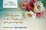 Mother's Day Lunch Buffet at Bay Lodge