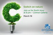 Earth Hour at City Centre Beirut
