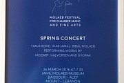 Molaeb Festival For Chamber Music And Fine Arts - Spring Concert