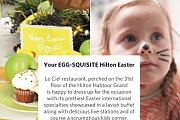 Your Egg-squisite Hilton Easter