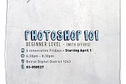 Photoshop 101 Workshop (Beginner Level)