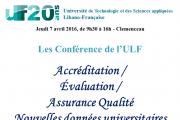 Conférence sur l'évaluation des universités