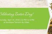 Zaatar Day