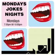 Jokes telling nights at Aleph B