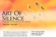 Advanced Meditation Course~Art of Silence Program