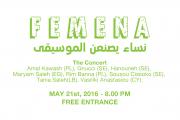 Femena - The Concert - نساء يصنعن الموسيقى
