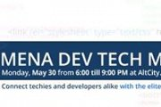 Mena Dev Tech Meetup #1