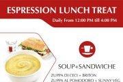 Espression Lunch Treat