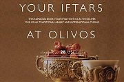Your Iftar at Olivos in Radisson Blu Hotel