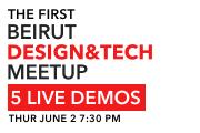 The 1st Beirut Design & Tech Meetup
