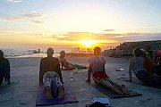 Tuesdays Sunset Yoga with Serene (Sporting Club Swimming Center)