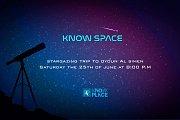KNOW SPACE - Stargazing trip to Oyoun al simen
