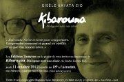"Signature du livre ""Kibarouna"" de Gisèle Kayata Eid"