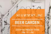 Beer Garden at Memory Lane