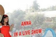 ANNA in a live show