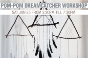 Natural Dreamcatcher Workshop
