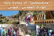 Hiking at Holy Valley of Qannoubine with SOAC