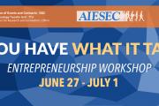 Entrepreneurship Week at AUB