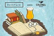 Marché du Livre à Batroun - Bookyard in Colonel Beer Brewery