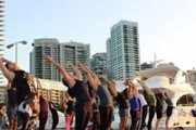 Free Sunset Yoga At Zaitunay Bay with BYC