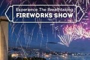 Breathtaking Fireworks Show of Jounieh from OPAL