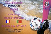Euro 2016, Semi-Final & Final Games at Eddésands