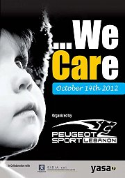 """""""WE CARE"""" event by Peugeot Sport Lebanon"""