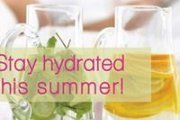 Stay Hydrated This Summer!
