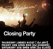 The Meister Farewell - Weekend Closing Party Program