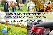 Outdoor Boot Camp Session