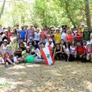 GREEN STEPS in a special event : hiking, planting Cedars and having lunch in Kawkaba, South Lebanon