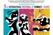5th International Festival of Comics - Beirut 2012