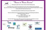 Food Tasting Event - Women to Women Success