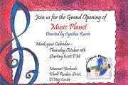 Grand Opening of Music Planet