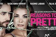"Avant-premiere of  ""Reasons to be pretty"", theatre Play for the Benefit of Sesobel with Nadine Labaki, Talal EL-Jurdi, Nada Bou Farhat & Elie Mitri"