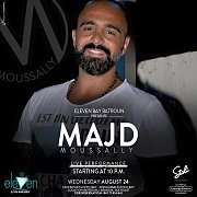 Majd Moussally at Eleven Bay