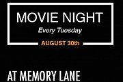 Movie Night at Memory Lane - Every Tuesday