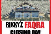 RIKKY'Z FAQRA CLOSING DAY