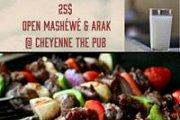 Open Mashewe & Arak at Cheyenne