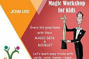 Magic workshop for Kids with Hady Akiki